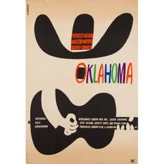 Oklahoma Original Polish Film Poster, Witold Janowski, 1964