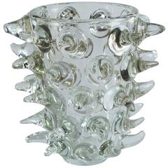 Stunning Vase with Dramatic Glass Tendrils