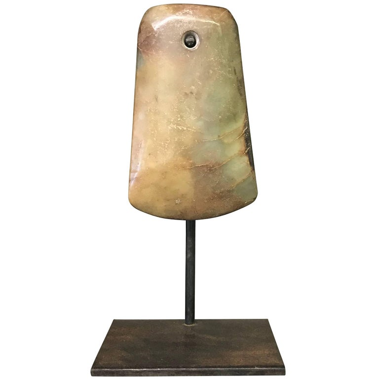 Stone Ax Head Sculpture, China, Contemporary