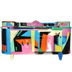 Exclusive Crazy Art Deco Sideboard