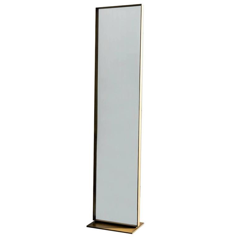 Elegant full length floor mirror for sale at 1stdibs for Floor length mirror for sale