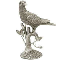 Mexican Sterling Silver Bird Table Ornament