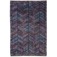 "Swedish Carpet by Marianne Richter, ""Blue Forest"""