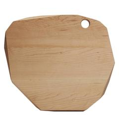 Slab Large Round Hard Maple Cutting Board