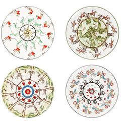 Set of Four Exclusive Dessert Plates Story