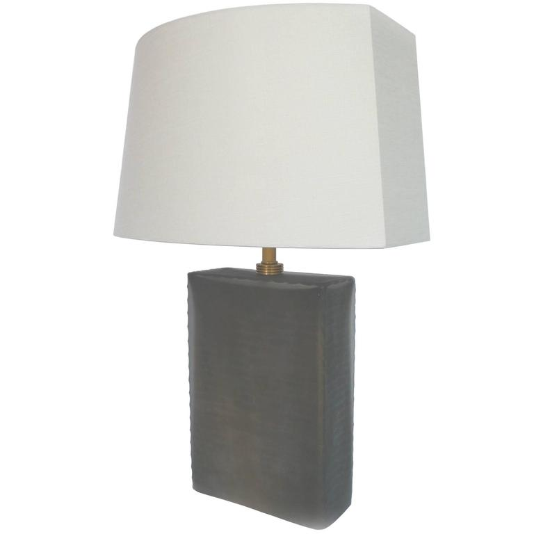 Donghia Frosted Glass Table Lamp 1