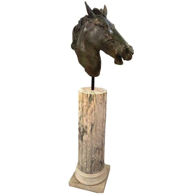 Testa Di Cavallo Statue For Sale