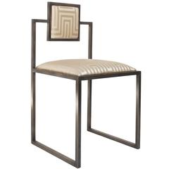 Champagne Square Chair