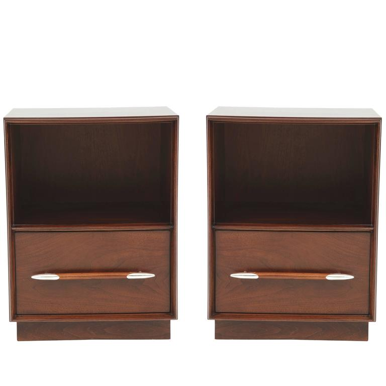 Robsjohn-Gibbings for Widdicomb Nightstands