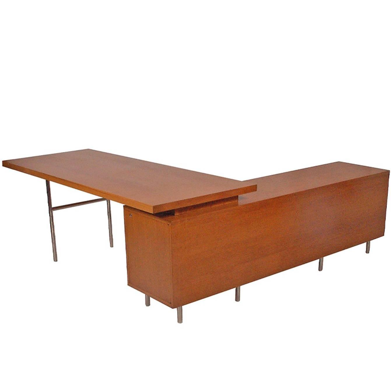 Executive Office Group Desk By George Nelson 1952 For Herman Miller For  Sale At 1stdibs
