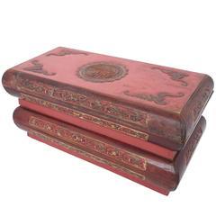 Antique Chinese Scholar Box