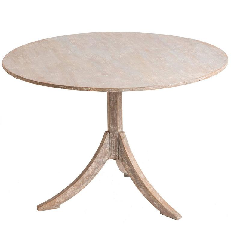 Swedish 19th century flip top table at 1stdibs for Table th rotate