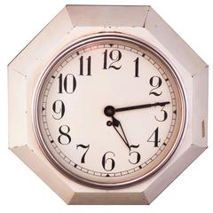 Adolf Loos 1920 Wall Clock, Original
