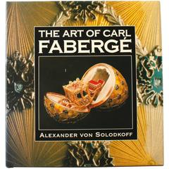 """Art of Carl Fabergé"" Book by Alexander von Solodkoff, First Edition"