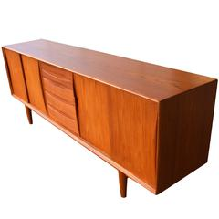 Danish Teak Sideboard Inspired by Arne Vodder for Dyrlund