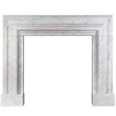 Carrara Marble Bolection Mantel