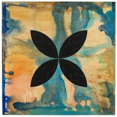 """Chantilly, 48""""x48"""", oli on canvas, by Ann Thornycroft"""