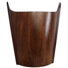 Norwegian Rosewood Wastepaper Basket by PS Heggin