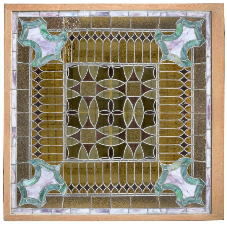 American Stained Glass Window