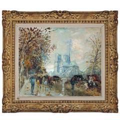 Notre Dame, Autonne by Merio Ameglio