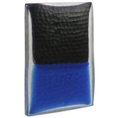 Elegant Monolith with Shades of Black and Blue