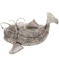 Monkfish Sterling Silver Tureen