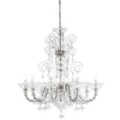 Timeless Venetian Chandelier with a Traditional Design