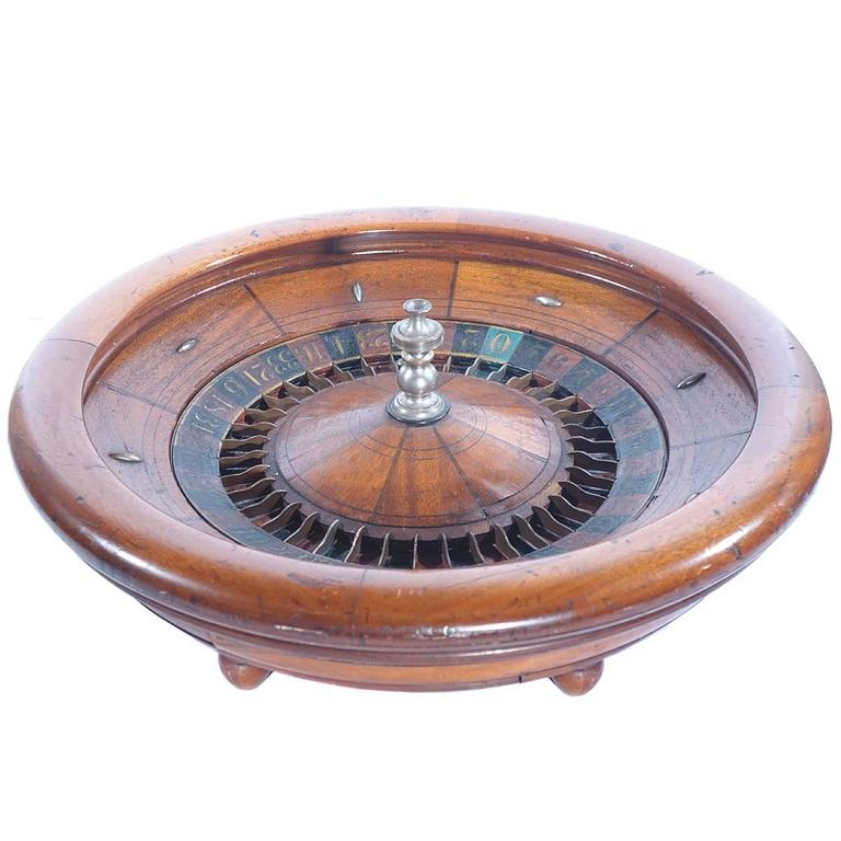 Nice Old Evans Roulette Wheel For Sale