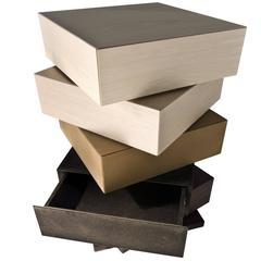 Striking Cubic Chest of Drawers