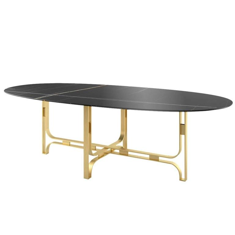 Exclusive Oval 39 Gregory 39 Dining Table For Sale At 1stdibs