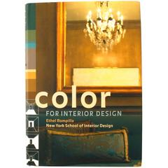 """""""Color For Interior Design"""" Book by Ethel Rompilla, First Edition"""
