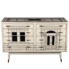 Mid-Century Fornasetti Style Commode