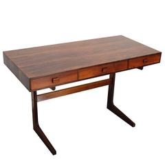 Gorgeous Mid Century Modern Danish Rosewood Desk by George Petersen's