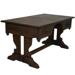 Oak Trestle Partners Writing Desk