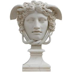 Medusa Rondanini Versace Head Sculpture