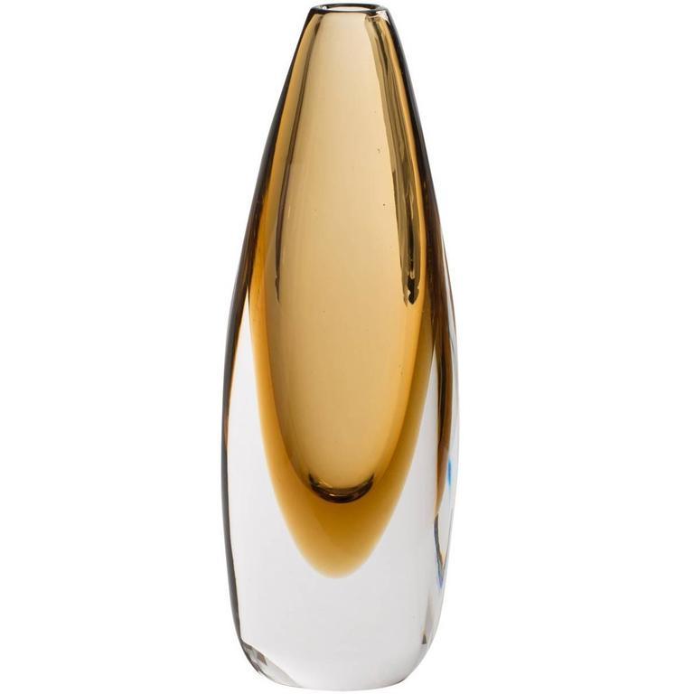 elegant tall 39 mila 39 vase with an original design for sale at 1stdibs. Black Bedroom Furniture Sets. Home Design Ideas
