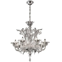 Timeless 'Correr' Chandelier with Fine Floral Motifs