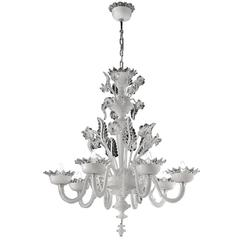Breathtaking 'Coruna' Chandelier with a Sinuous Design