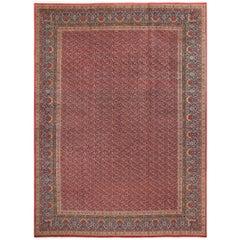 Fine Kork Vintage Tabriz Persian Rug