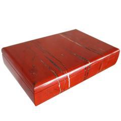 Amazing Large Jasper Lapidary Box