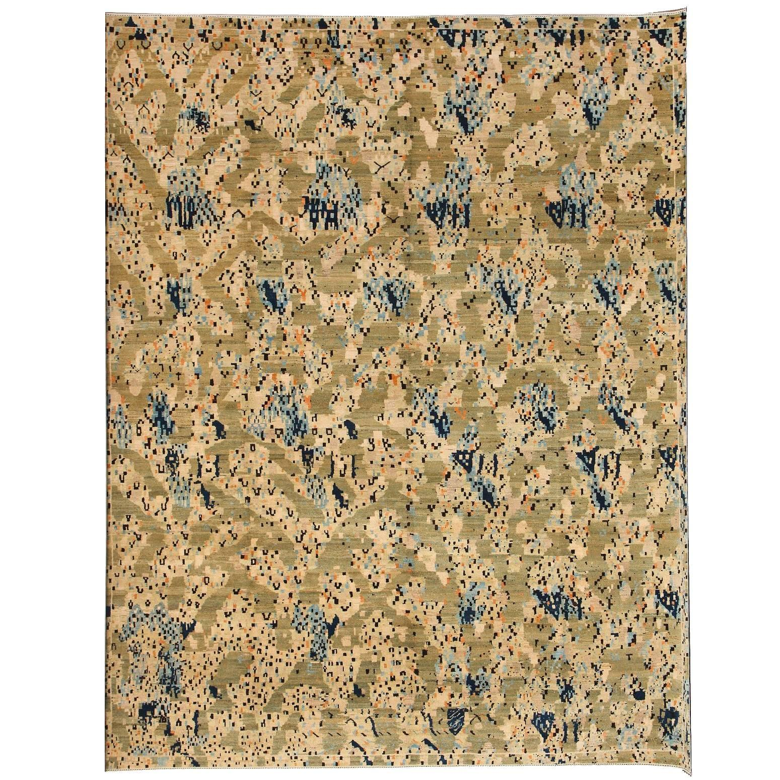 """Orley Shabahang Signature """"Aspen"""" Carpet in Handspun Wool and Vegetable Dyes"""