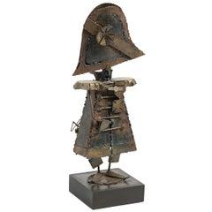 Napoleon Metal Sculpture by Jack Hanson