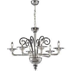 Fine 'Ponte' Chandelier with a Simple Design