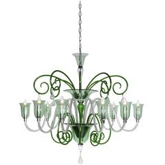 Timeless Green 'Liffey' Chandelier