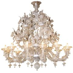 Drammatica Murano Glass Chandelier