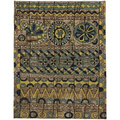 Modern Moroccan Rug with Bohemian Style