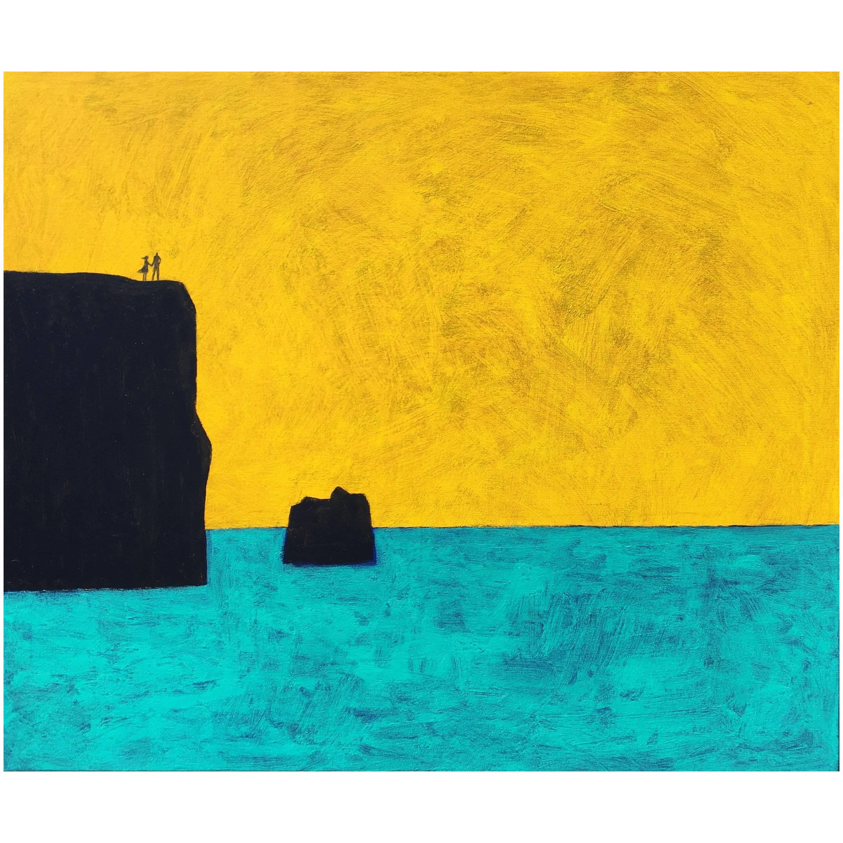 """James Strombotne painting, titled: """"Vista Grande"""""""