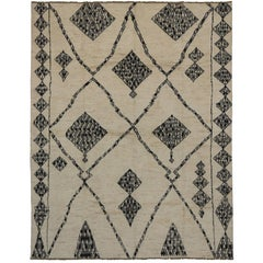 New Moroccan Style Rug with Modern Nomadic Style