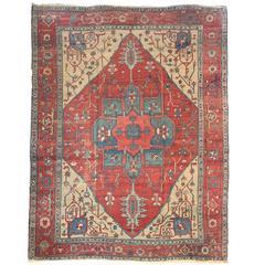 Antique Persian Sarapi Rug, circa 1880s