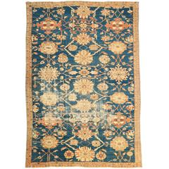 Antique Persian Sultanabad Rug, circa 1870s
